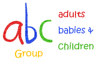 [Adults Babies Children Logo]